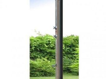 Cristaline - douche solaire 30l inox avec rince pieds - Douche D'extérieur