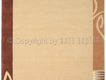 Arte Espina - tapis de chambre easy going 3 beige 90x160 en acry - Tapis Contemporain