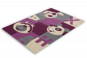 NAZAR - tapis amigo 100x150 violet - Tapis Enfant