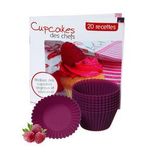 saveur & dégustation - saveur & dégustation - coffret cupcakes avec 8 mou - Moule À Muffins