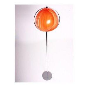 KOKOON DESIGN - lampe lampadaire design à lamelles orientables lun - Lampadaire