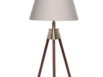 BLANC D'IVOIRE - tripod - Lampe À Poser