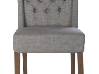 BLANC D'IVOIRE - sydney gris - Chaise