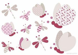 BABY SPHERE - petites ailes en sticker - Sticker Décor Adhésif Enfant