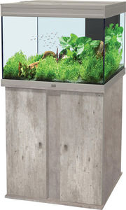 ZOLUX - ensemble aquarium aqua elegance 1 imitation béton  - Aquarium
