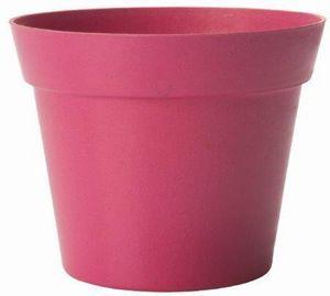 MARC VERDE - pot déco rose en bambou et résine 19x17cm - Cache Pot