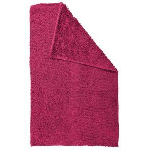 TODAY - tapis salle de bain reversible - couleur - fushia - Tapis De Bain