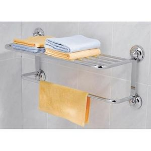 EVERLOC - support grande serviette ventouse - Porte Serviettes