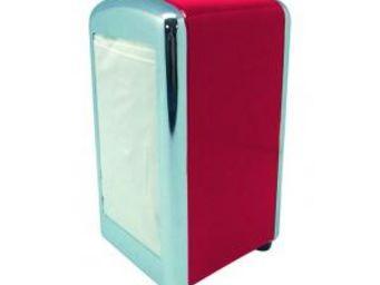 Manta Design - distributeur de serviette - couleur - rouge - Distributeur De Serviettes En Papier