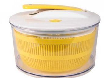 Cm - essoreuse salade àpiston - couleur - jaune - Essoreuse À Salade