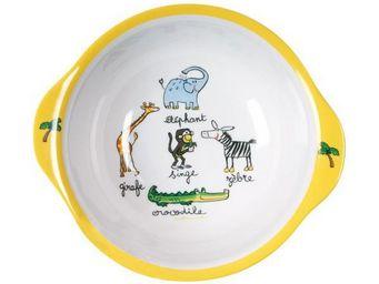 La Chaise Longue - bol mélamine jungle - Assiette Bébé