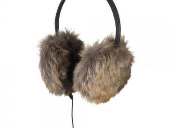 La Chaise Longue - casque protège-oreilles fausse fourrure - Casque