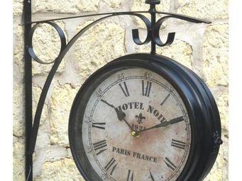 L'HERITIER DU TEMPS - horloge murale double face 28cm - Horloge Murale