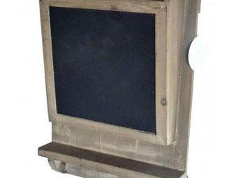 L'HERITIER DU TEMPS - boite à courrier avec ardoise - Casier De Rangement