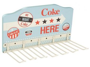 La Chaise Longue - porte verres mural coca americana - Rack À Verres