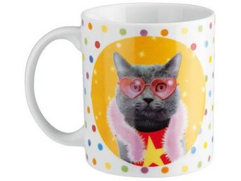 La Chaise Longue - mug chat disco - Mug