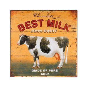 La Chaise Longue - plaque d�coration best milk - Tableau D�coratif
