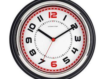 La Chaise Longue - horloge boston noir - Pendule Murale
