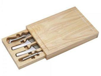 La Chaise Longue - planche à découper + couteaux - Planche À Découper