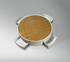 ARTEZEN - nenuphar - Table Basse À Tiroirs
