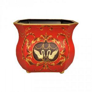 Demeure et Jardin - cache pot rouge - Cache Pot