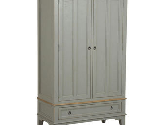 Interior's - armoire 2 portes 1 tiroir - Armoire À Portes Battantes