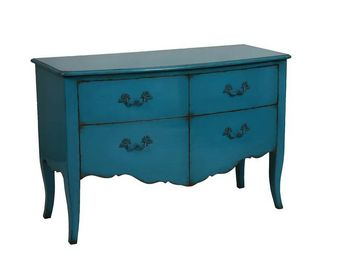 Interior's - grande commode bleu turquoise - Commode