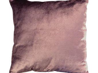 Interior's - housse de coussin velours aubergine - Housse De Coussin
