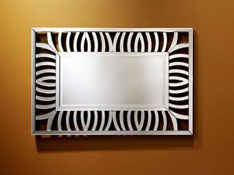 WHITE LABEL - cusco miroir mural design zebre - Miroir