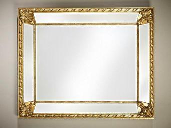 WHITE LABEL - fluide miroir mural design or - Miroir