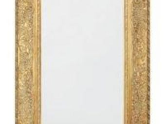 WHITE LABEL - miroir opulence gold design - Miroir