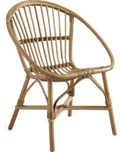 Aubry-Gaspard - fauteuil en manau - Fauteuil De Jardin