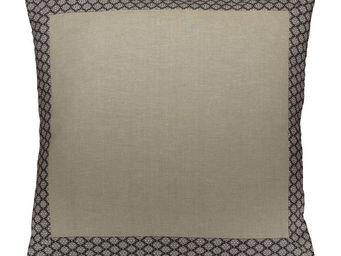 Interior's - housse de coussin grise clair obscur 60x60 - Housse De Coussin