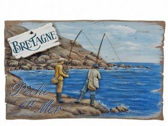Interior's - enseigne pêche à la ligne - Décoration Murale
