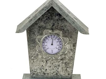 Interior's - nichoir thermometre - Horloge � Poser