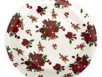 Interior's - assiette à dessert rose rouge - Assiette À Dessert