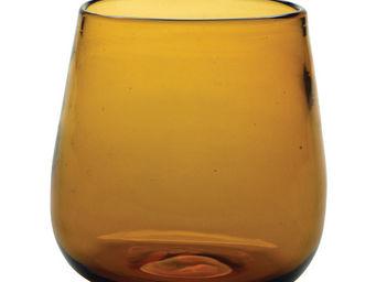 Interior's - verre fum� orange - Verre