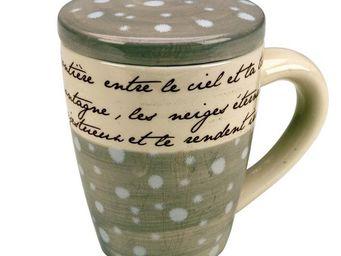 Interior's - mug avec couvercle winter - Mug
