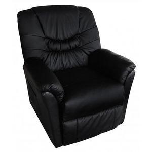 WHITE LABEL - fauteuil de massage noir - Fauteuil De Massage