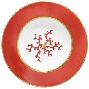 Raynaud - cristobal rouge - Assiette Creuse