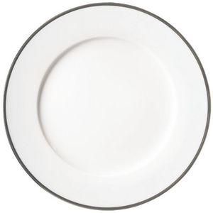 Raynaud - fontainebleau platine - Assiette De Présentation