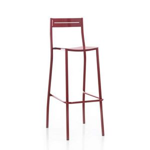 Mathi Design - tabouret de bar acier - Chaise Haute De Bar