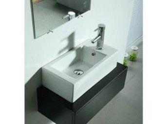 UsiRama.com - meuble salle de bain en bois massif libo (60cm) - Meuble Vasque