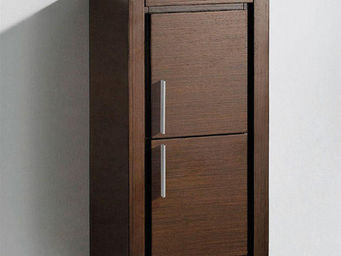 UsiRama.com - petite colonne design pas cher 70cm - Armoire De Salle De Bains