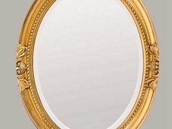 UsiRama.com - miroir baroque sculpture design luxe sculp1 - Miroir De Douche