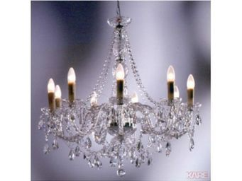 Kare Design - lustre gioiello crystal 9 transparent - Lustre