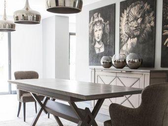 Grange -  - Table De Repas Rectangulaire