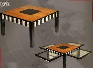 BATEL -  - Table Basse Carrée