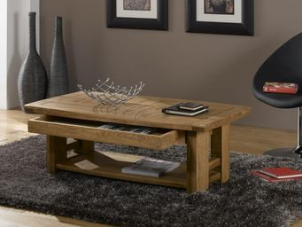 Ateliers De Langres - quebec - Table Basse Rectangulaire