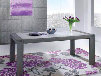 Ateliers De Langres - ceram - table de repas - Table De Repas Rectangulaire